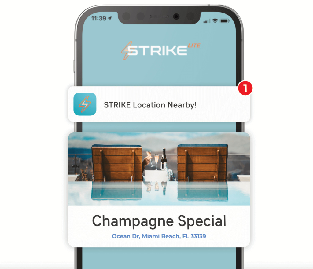 Strike This wearble finds your match in real life!